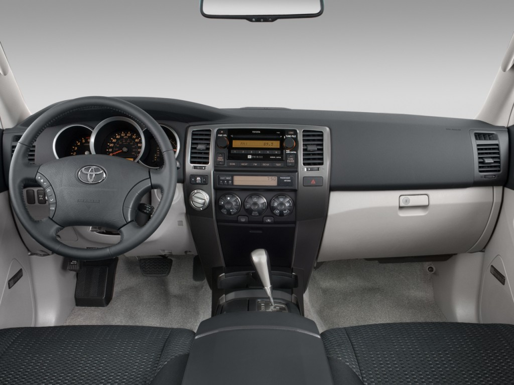 Autonation Used Cars >> Image: 2008 Toyota 4Runner 4WD 4-door V6 Sport (Natl) Dashboard, size: 1024 x 768, type: gif ...