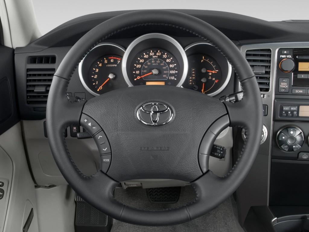 image 2008 toyota 4runner 4wd 4 door v6 sport natl steering wheel size 1024 x 768 type. Black Bedroom Furniture Sets. Home Design Ideas