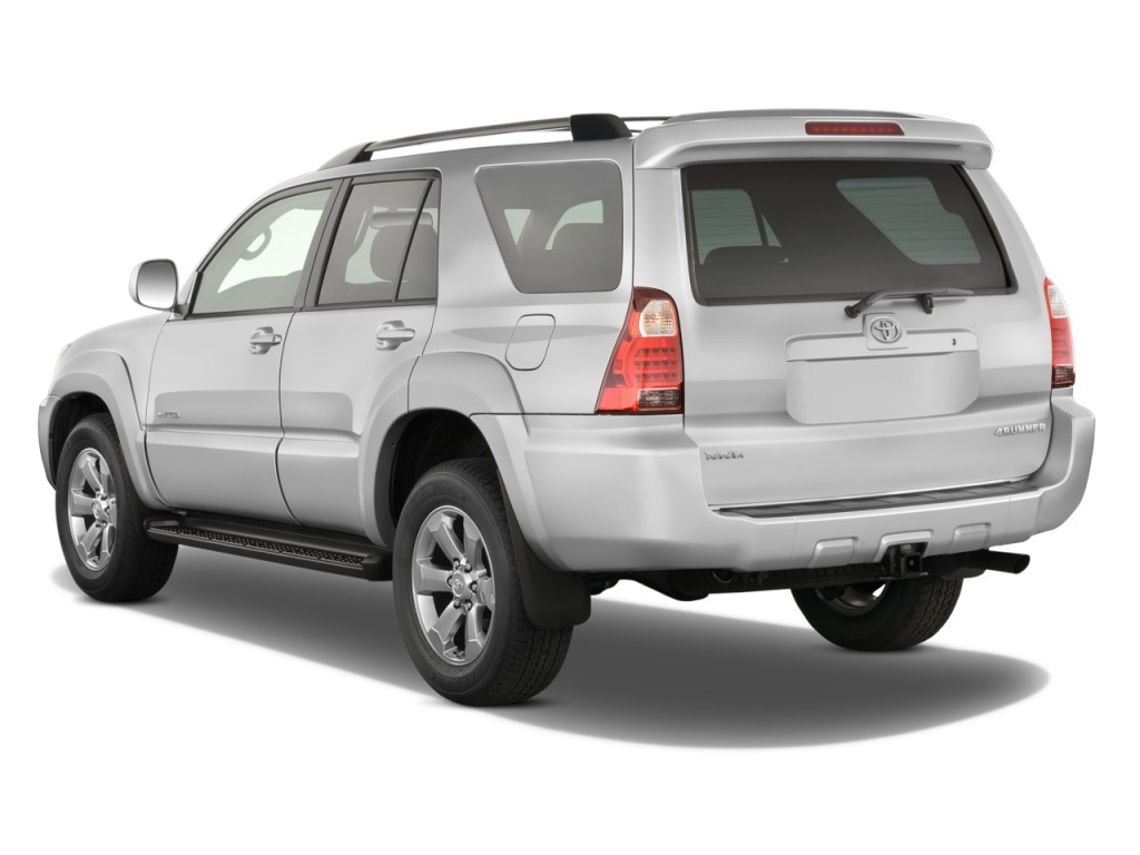 Image 2008 Toyota 4runner Rwd 4 Door V6 Limited Natl Angular Rear Exterior View Size 1024 X