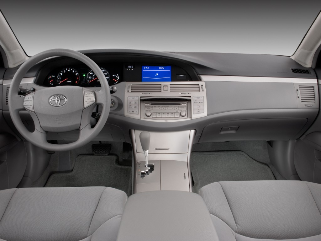 image 2008 toyota avalon 4 door sedan xl natl dashboard. Black Bedroom Furniture Sets. Home Design Ideas