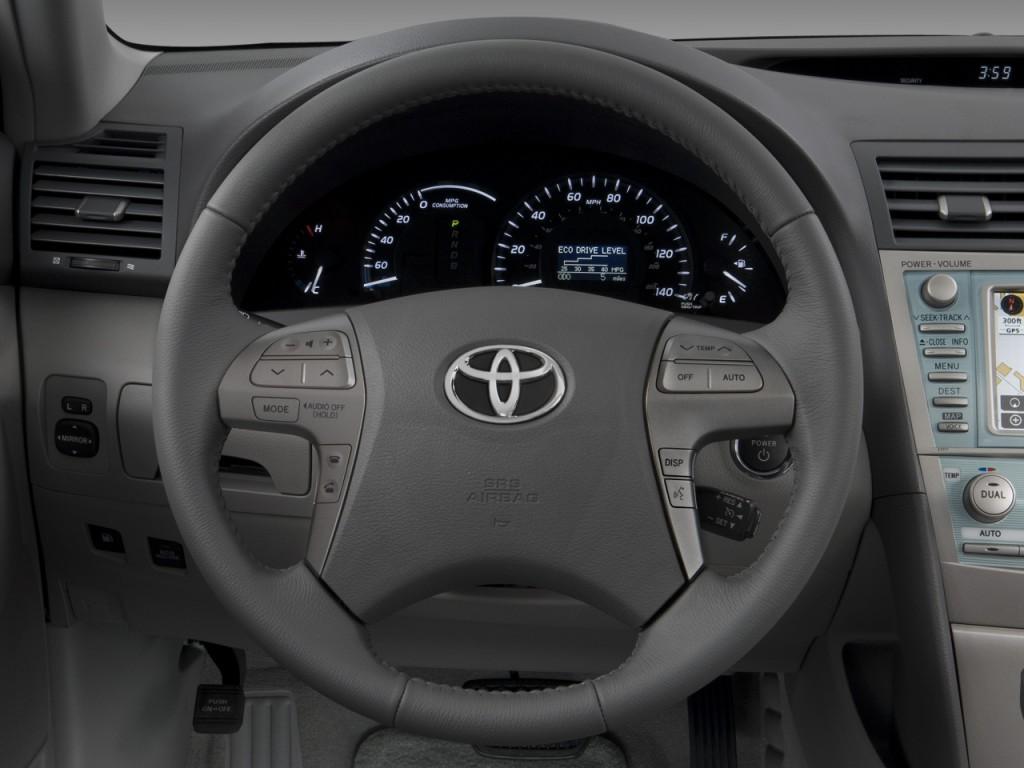 image 2008 toyota camry hybrid 4 door sedan natl steering wheel size 1024 x 768 type gif. Black Bedroom Furniture Sets. Home Design Ideas