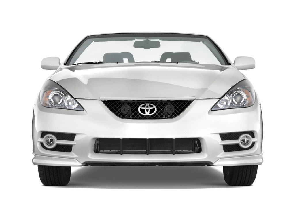 image 2008 toyota camry solara 2 door convertible v6 auto sport natl front exterior view. Black Bedroom Furniture Sets. Home Design Ideas