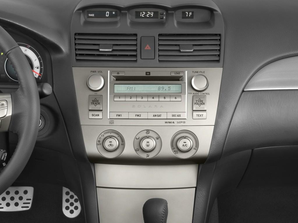 Image: 2008 Toyota Camry Solara 2-door Convertible V6 Auto ...