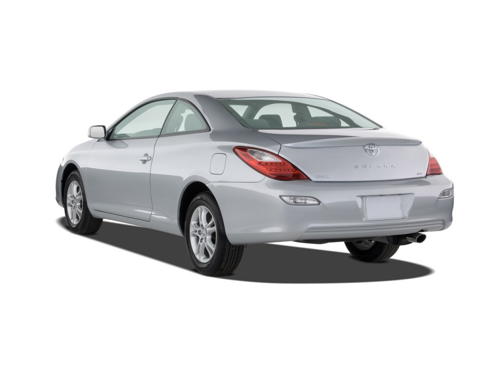 image 2008 toyota camry solara 2 door coupe v6 auto se natl angular rear exterior view size. Black Bedroom Furniture Sets. Home Design Ideas