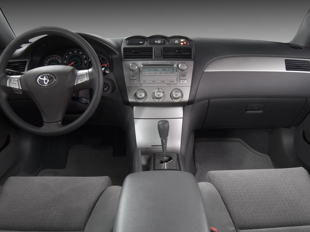 2008 toyota camry solara 2 door coupe v6 auto se natl dashboard