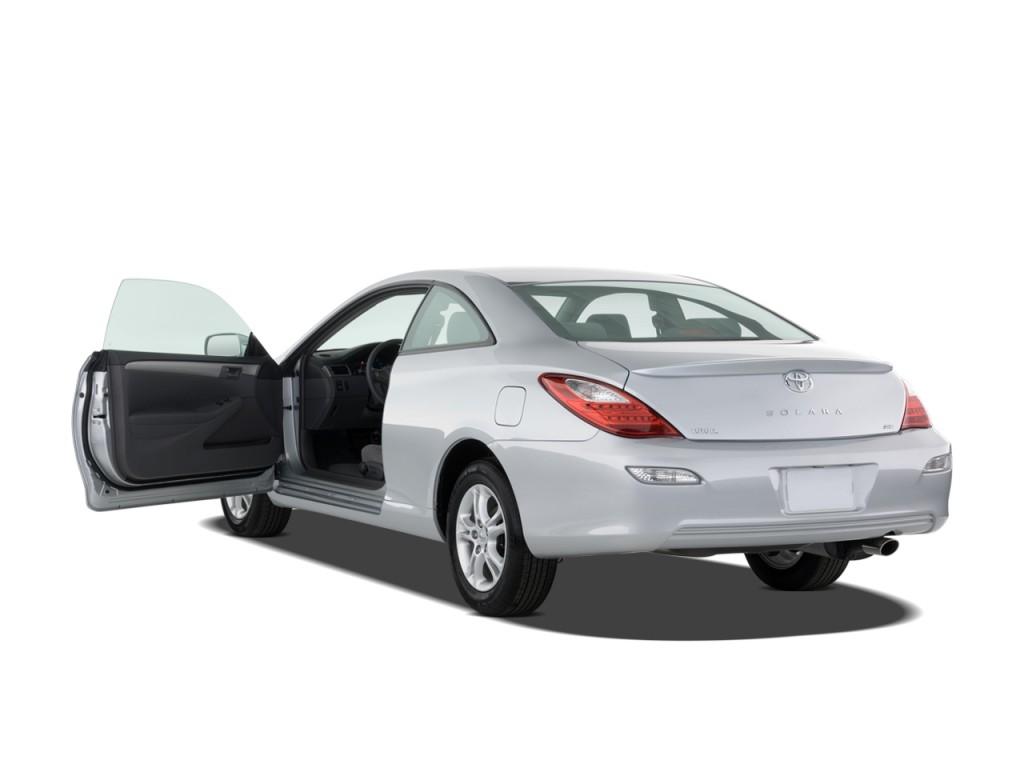 2008 Toyota Camry Solara 2 Door Coupe V6 Auto SE (Natl) Open Doors