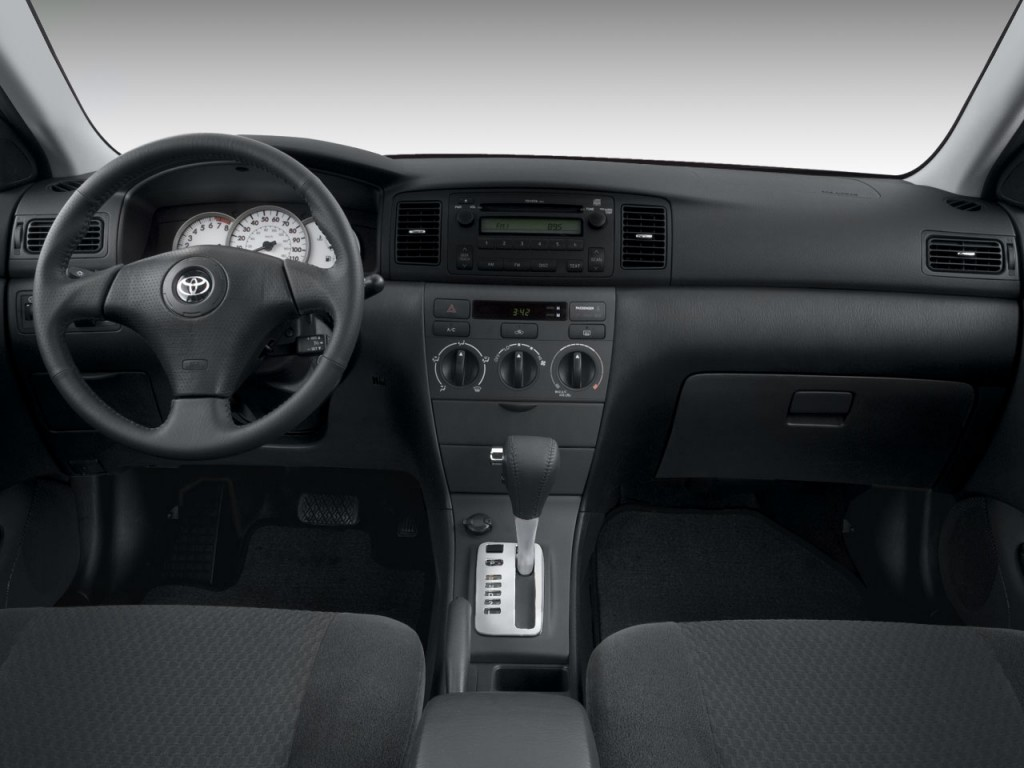 Image: 2008 Toyota Corolla 4-door Sedan Auto S (Natl ...