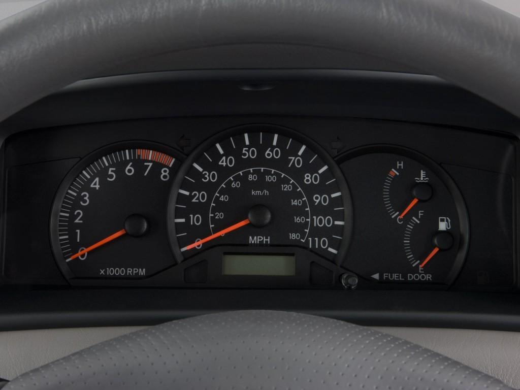 Image 2008 Toyota Corolla 4 Door Sedan Man Ce Natl Instrument Cluster Size 1024 X 768 Type