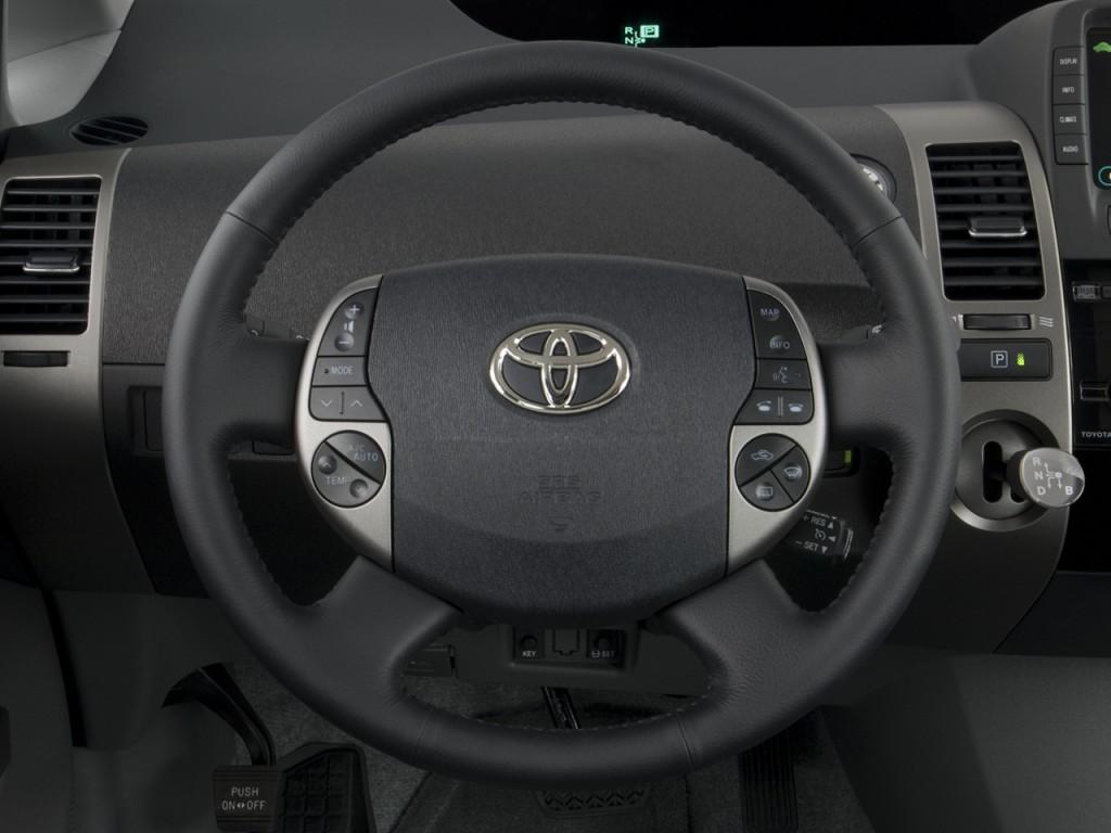 Image: 2008 Toyota Prius 5dr HB Touring (Natl) Steering ...