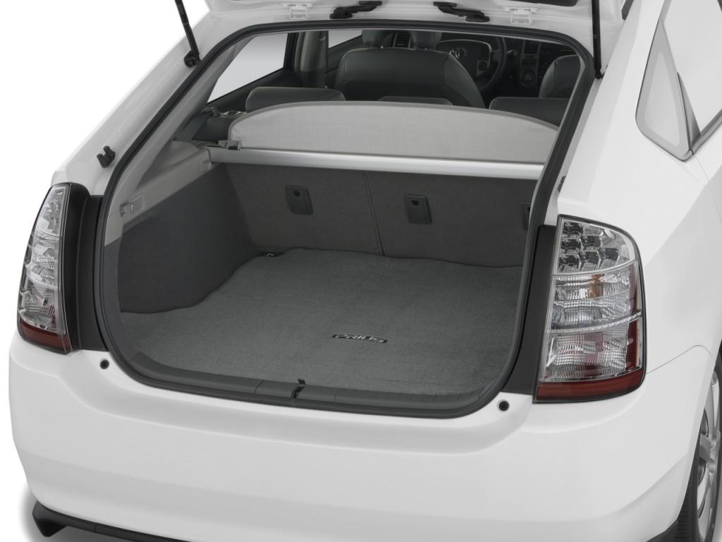 Suzuki Car Dealership >> Image: 2008 Toyota Prius 5dr HB Touring (Natl) Trunk, size ...