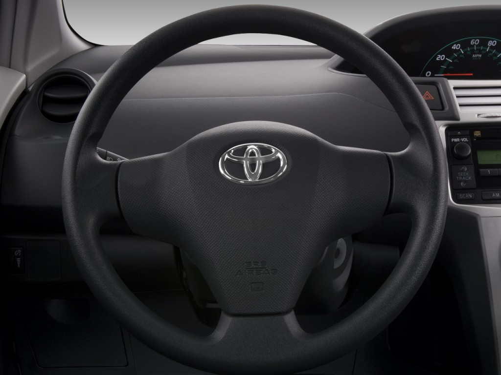image 2008 toyota yaris 3dr hb man natl steering wheel size 1024 x 768 type gif posted. Black Bedroom Furniture Sets. Home Design Ideas