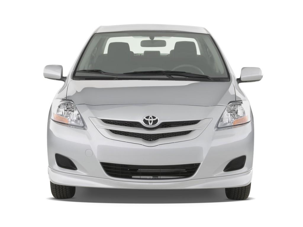 Image 2008 toyota yaris 4 door sedan auto s natl front exterior view size 1024 x 768 type for Exterior accessories toyota yaris