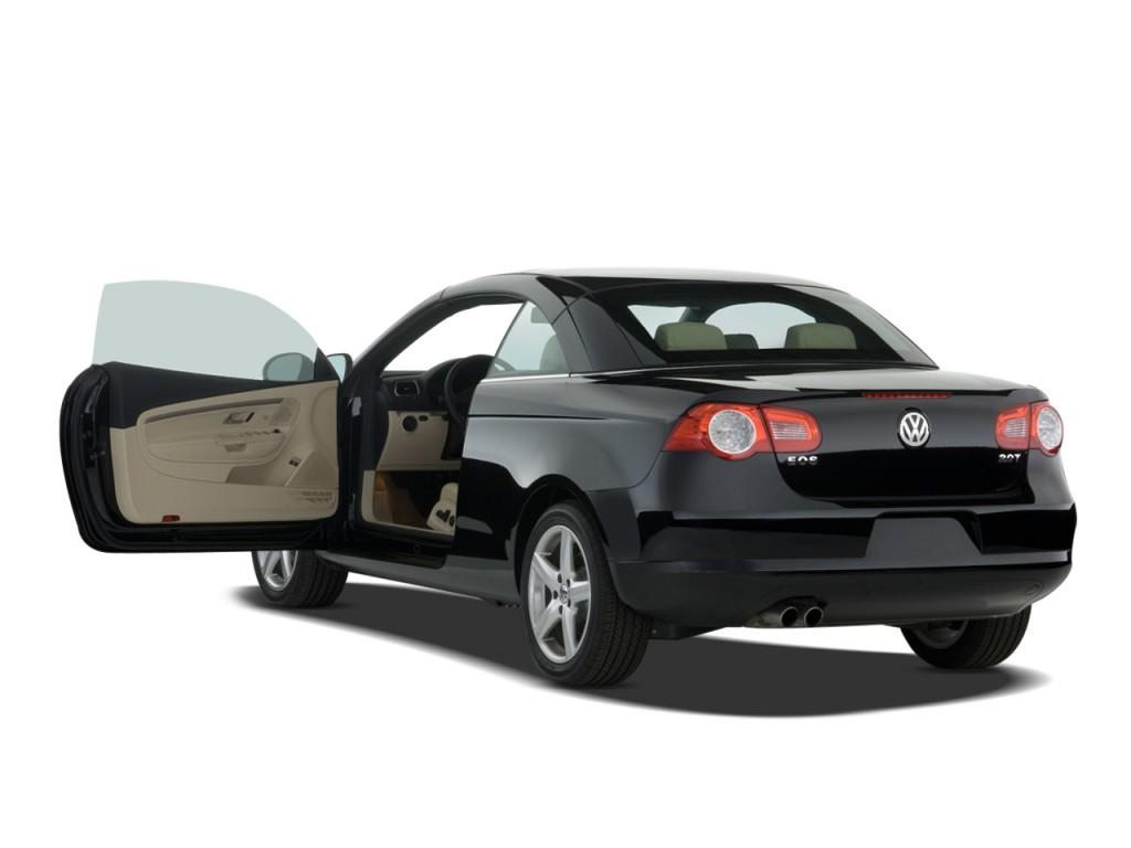 Image: 2008 Volkswagen Eos 2-door Convertible DSG Turbo Open Doors