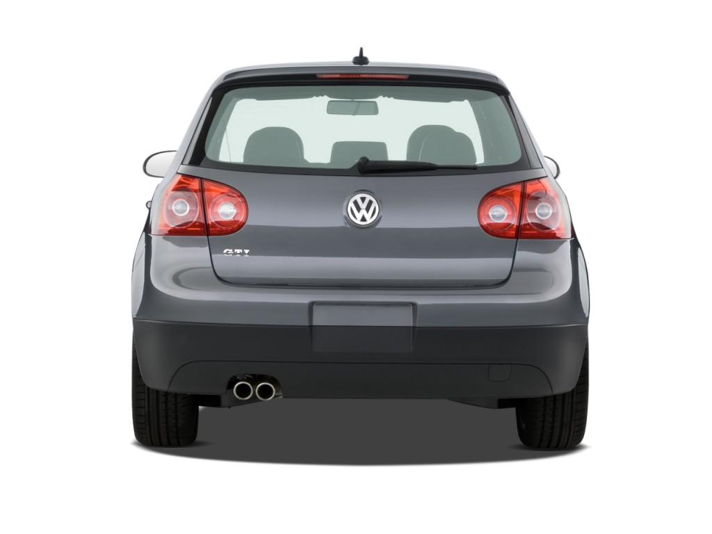 Image: 2008 Volkswagen GTI 4-door HB DSG Rear Exterior ...