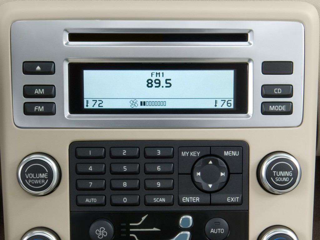 Image 2008 Volvo S80 4 Door Sedan I6 Fwd Audio System