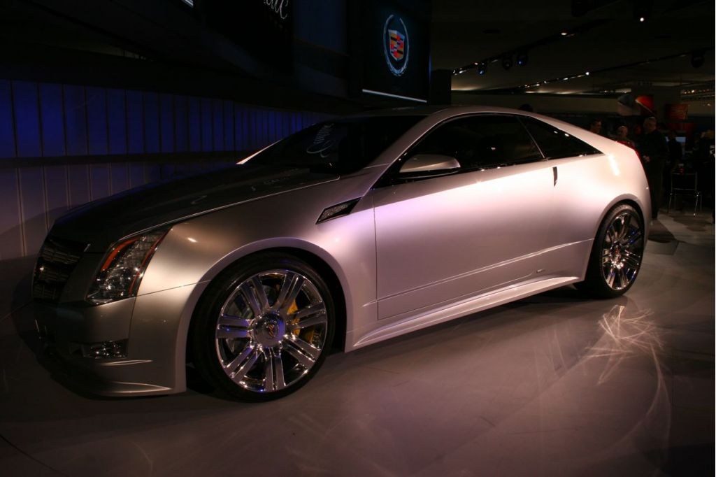 Used Cadillac Cts Coupe >> Image: 2008 Cadillac CTS Coupe Concept, Detroit Auto Show ...