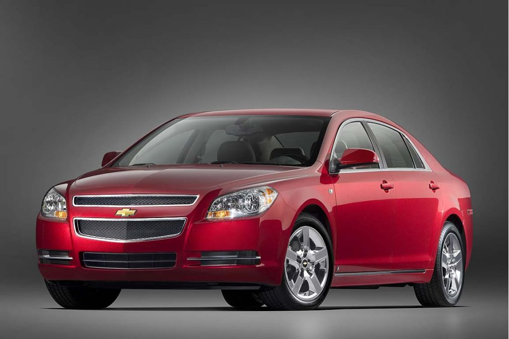 2008 Chevy Malibu Among GM Models Recalled For Power Steering Problems
