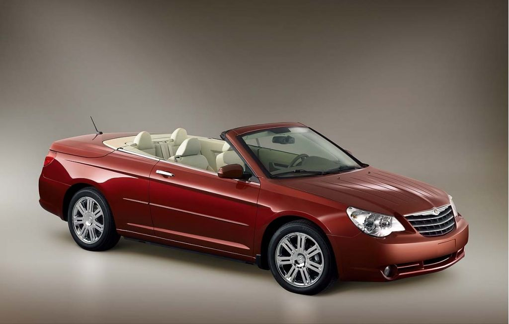 2008 Chrysler Sebring Convertible Review Ratings Specs Prices And Photos The Car Connection