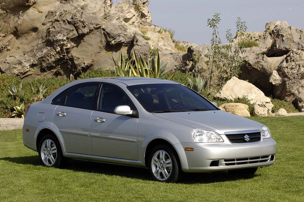 2004-2008 Suzuki Forenza, 2005-2008 Reno Recalled, Just Like Their GM Siblings