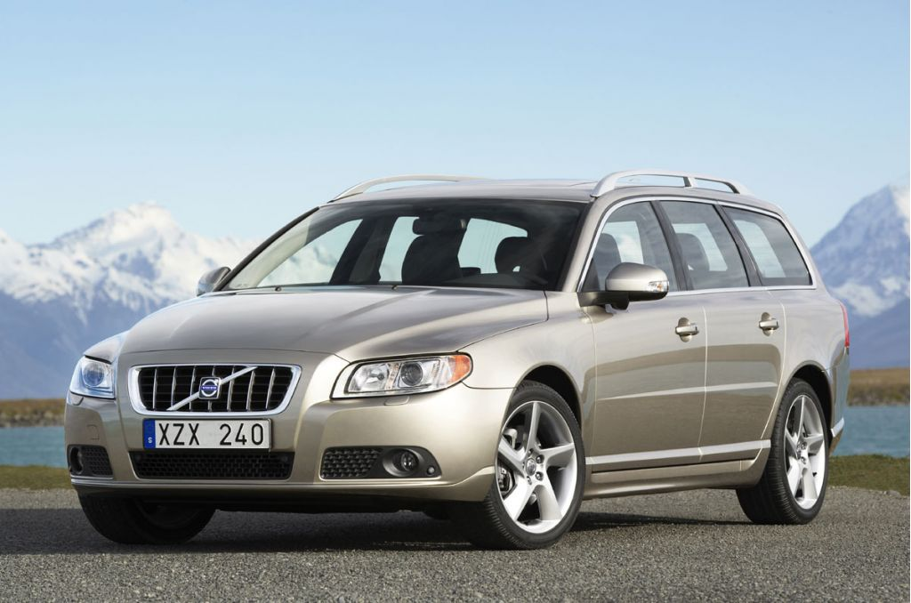 Volvo V70 Ready for Geneva Debut