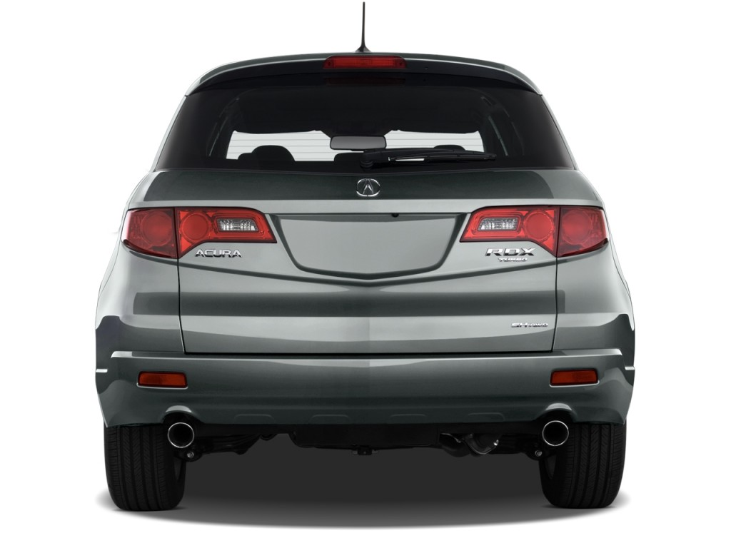 Image: 2009 Acura RDX AWD 4-door Tech Pkg Rear Exterior ...