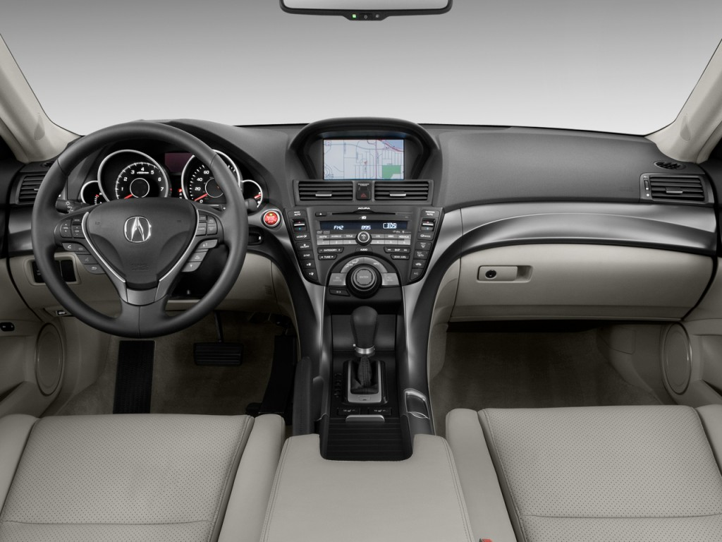 Image: 2009 Acura TL 4-door Sedan 2WD Tech Dashboard, size ...