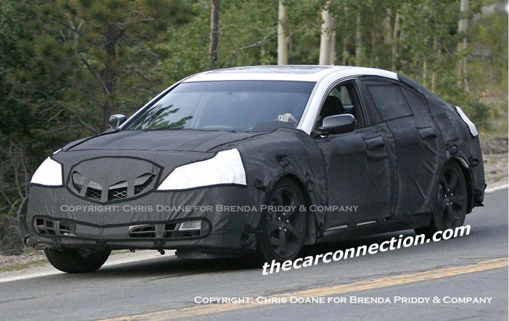 2009 Acura Tl Spied