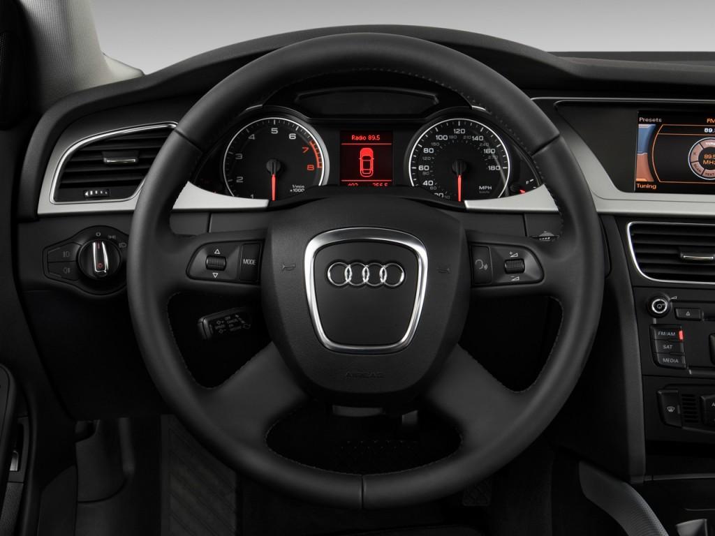 image 2009 audi a4 4 door sedan auto 2 0t quattro prem steering wheel size 1024 x 768 type. Black Bedroom Furniture Sets. Home Design Ideas