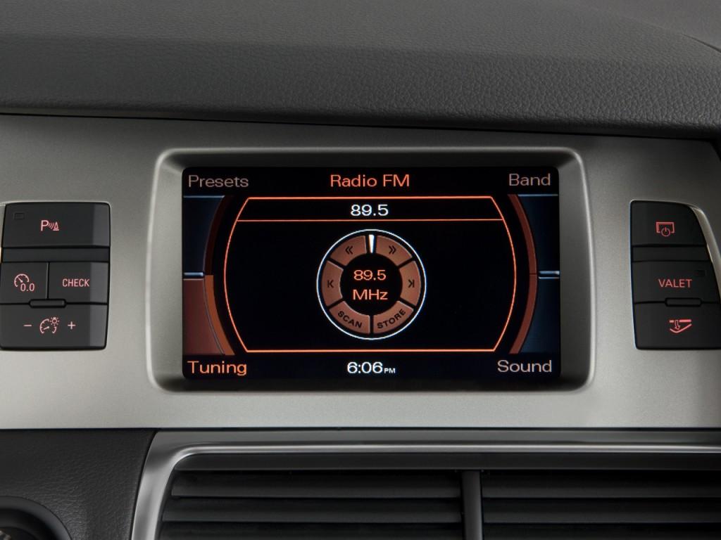 Image 2009 Audi Q7 Quattro 4 Door 3 6l Premium Audio