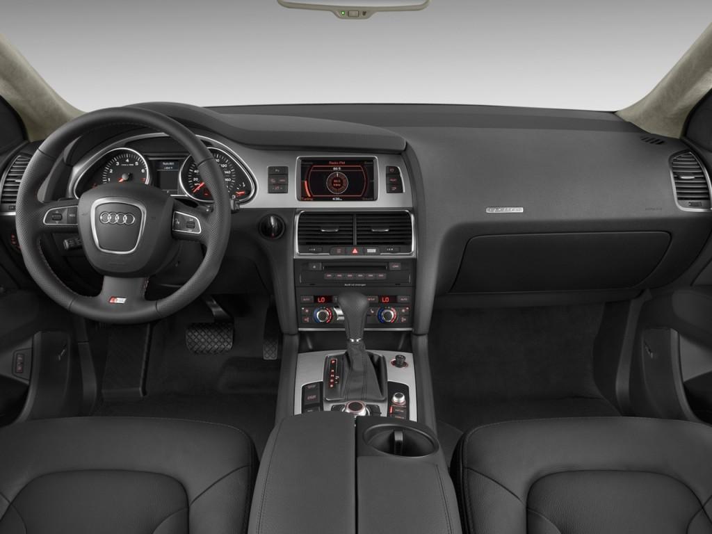 Image: 2009 Audi Q7 quattro 4-door 4.2L Prestige Dashboard ...