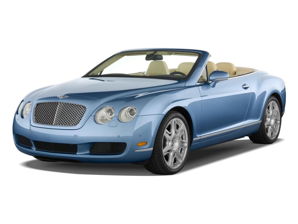 Image: 2009 Bentley Continental GT 2-door Convertible ...