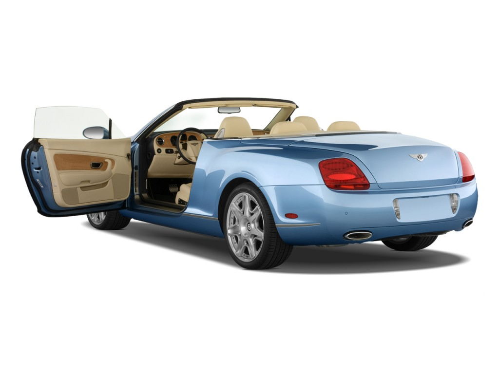 2009 Bentley Continental GT 2-door Convertible Open Doors  sc 1 st  Green Car Reports & Image: 2009 Bentley Continental GT 2-door Convertible Open Doors ...