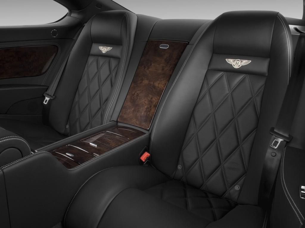 Image: 2009 Bentley Continental GT 2-door Coupe Speed Rear ...