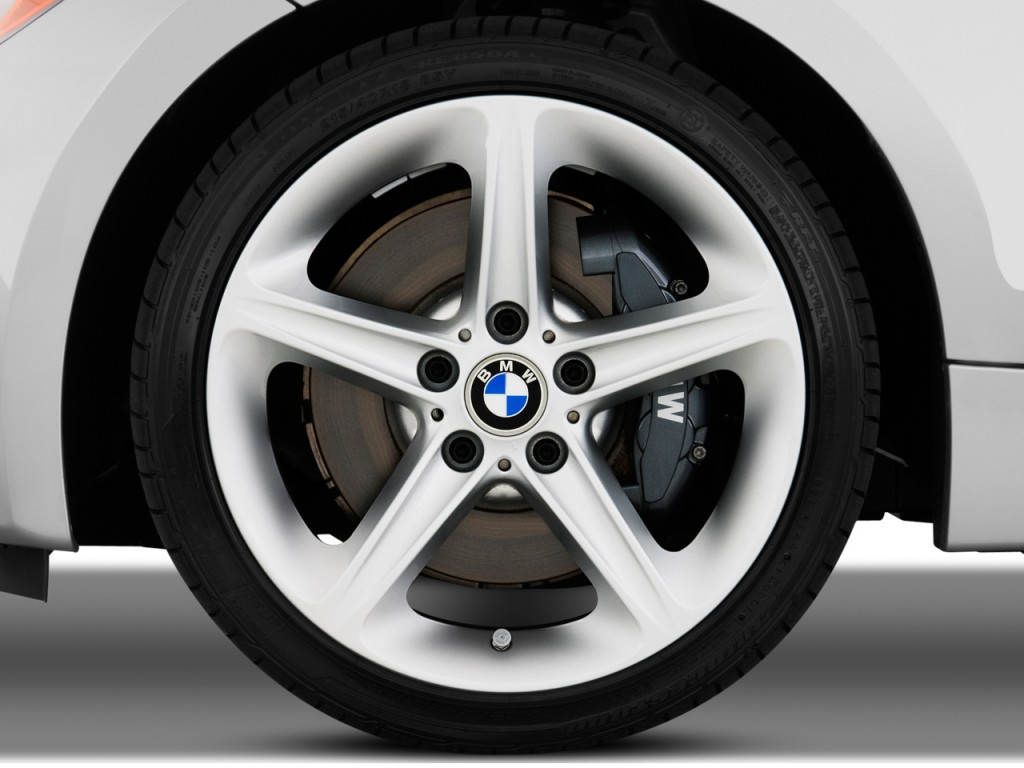 image: 2009 bmw 1-series 2-door coupe 135i wheel cap, size: 1024 x