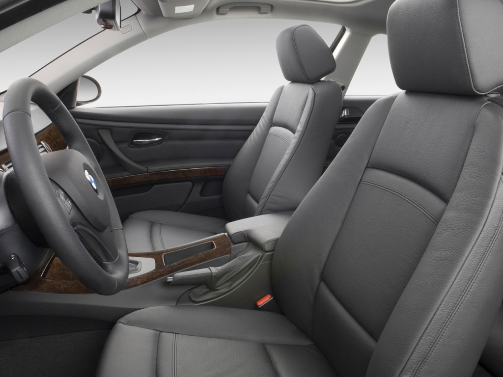 Image: 2009 BMW 3-Series 2-door Coupe 328i RWD Front Seats, size ...