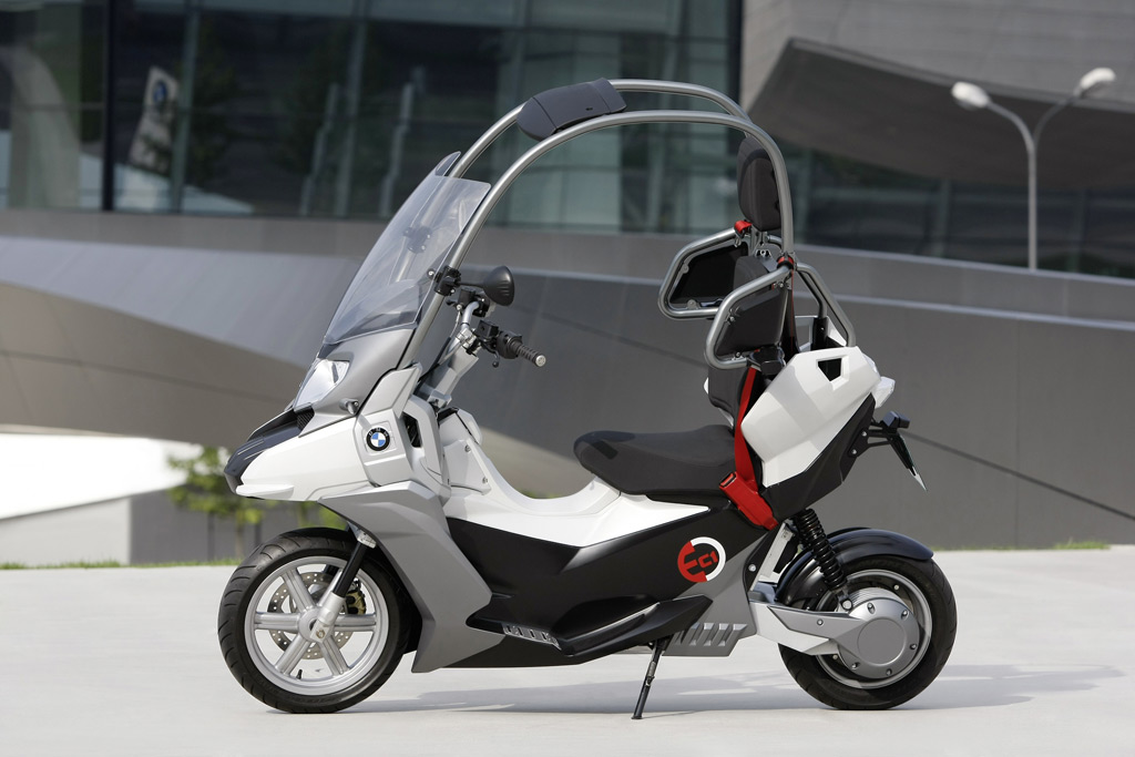 Jeep Dealership Los Angeles >> BMW Unveils C1-E All-Electric Scooter Study