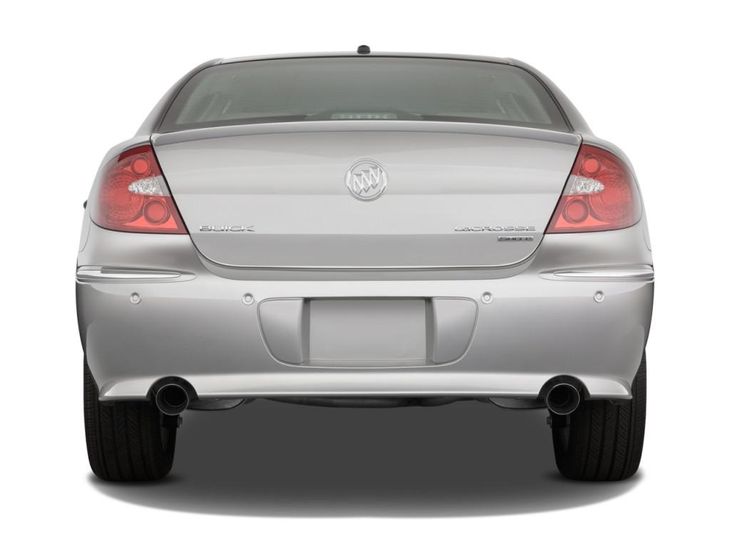 Image: 2009 Buick LaCrosse 4-door Sedan Super Rear ...