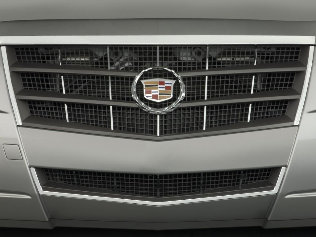 2009 Cadillac CTS 4-door Sedan RWD w/1SA Grille