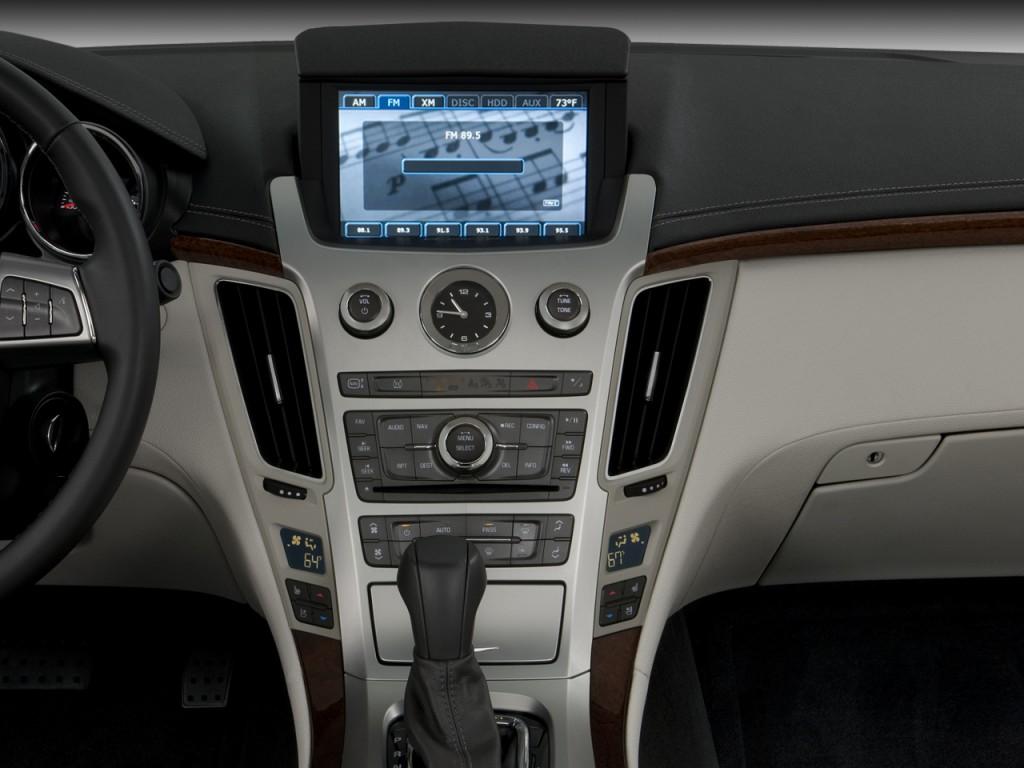 Image: 2009 Cadillac CTS 4-door Sedan RWD w/1SA Instrument ...