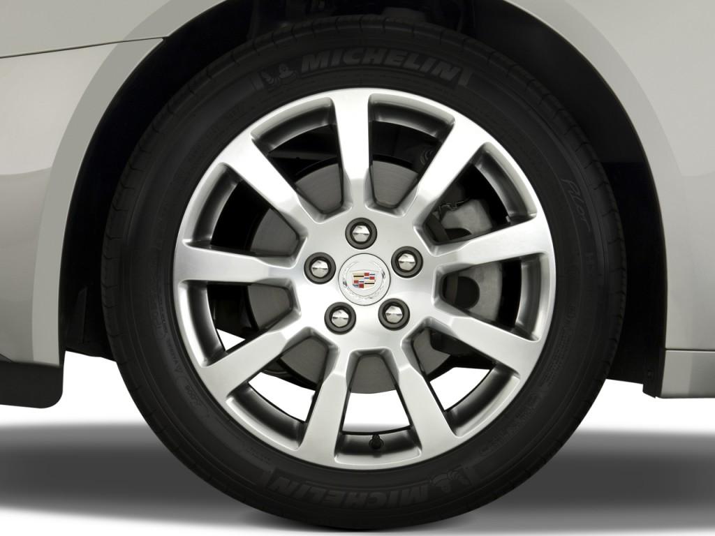 2009 Cadillac CTS 4-door Sedan RWD w/1SA Wheel Cap