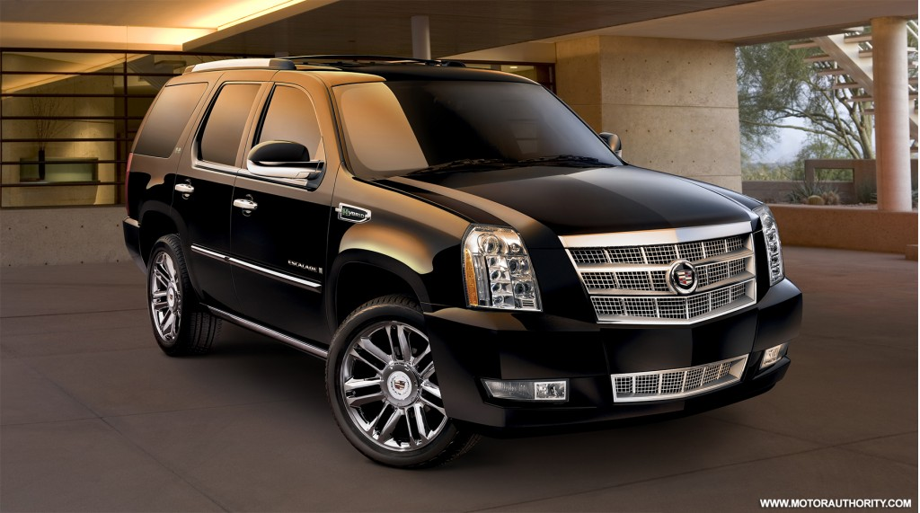 Image 2009 Cadillac Escalade Hybrid Platinum Size 1024