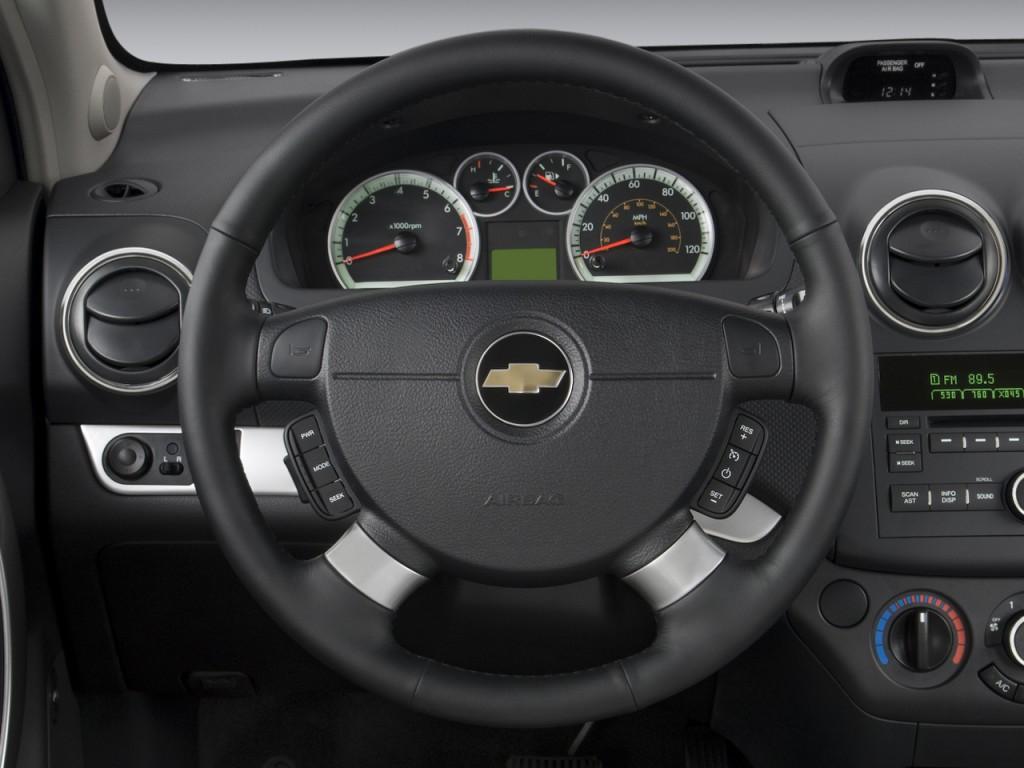 Image: 2009 Chevrolet Aveo 4-door Sedan LT w/1LT Steering ...