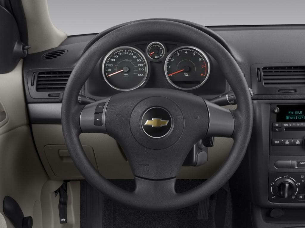 Cobalt 2006 chevy cobalt coupe : Image: 2009 Chevrolet Cobalt 2-door Coupe LS Steering Wheel, size ...