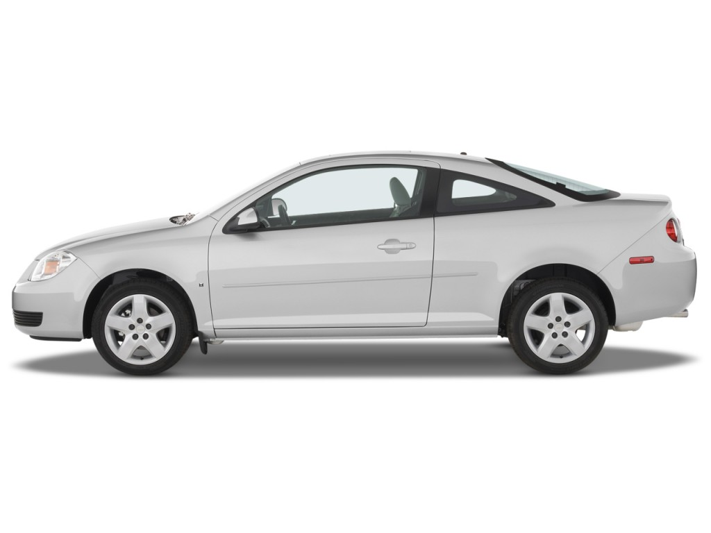 2009 chevrolet cobalt 2 door coupe lt w 1lt side exterior view