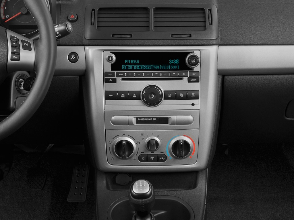 Cobalt 2006 chevy cobalt coupe : Image: 2009 Chevrolet Cobalt 2-door Coupe SS Instrument Panel ...