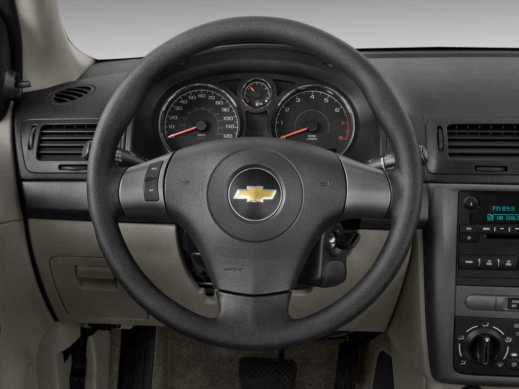 Image: 2009 Chevrolet Cobalt 4-door Sedan LS Steering Wheel, size ...