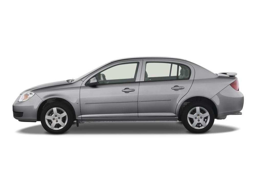 Cobalt chevy cobalt 4 door : Image: 2009 Chevrolet Cobalt 4-door Sedan LT w/1LT Side Exterior ...