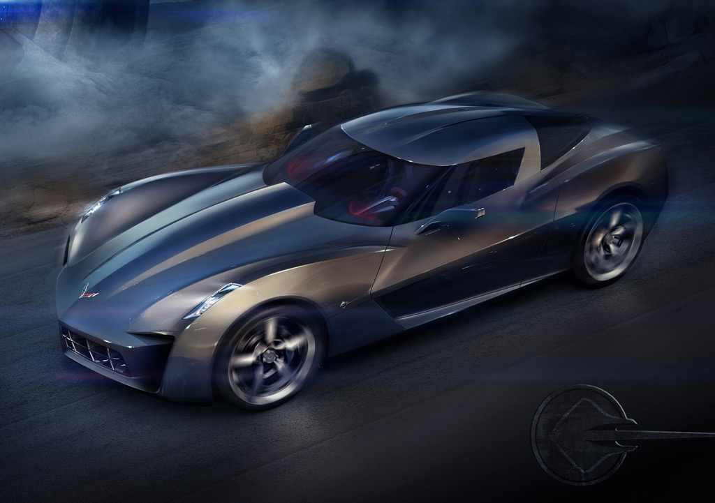 50th Anniversary Chevrolet Corvette Stingray Concept Official Details