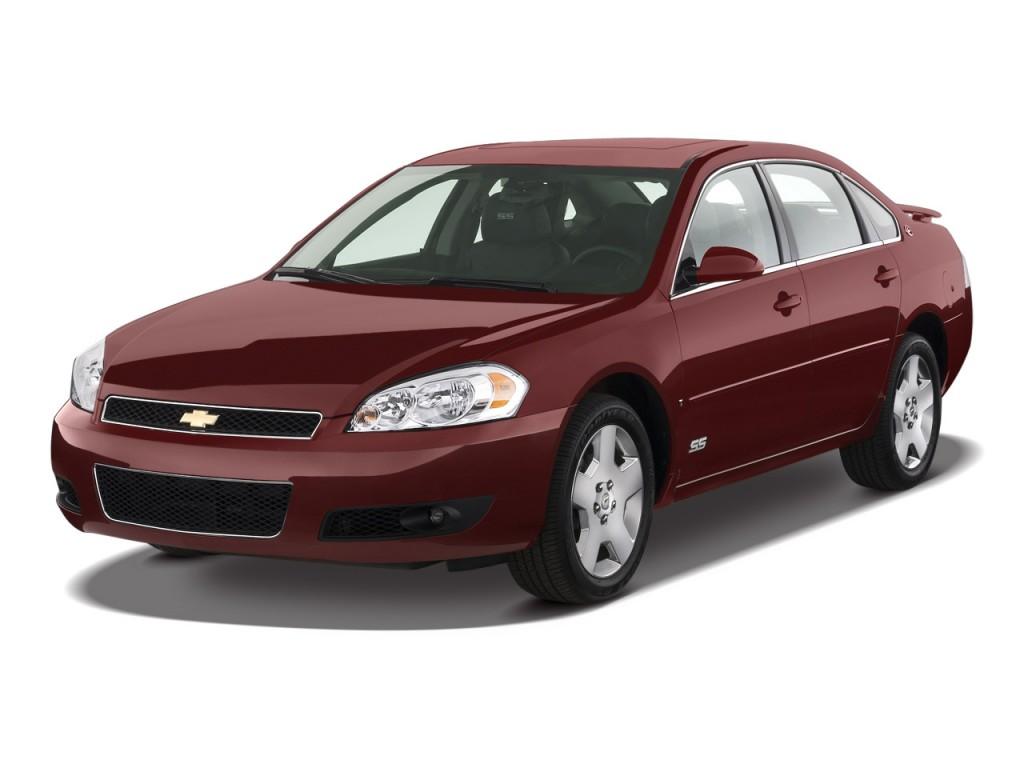 Impala 2009 chevrolet impala review : Image: 2009 Chevrolet Impala 4-door Sedan SS *Ltd Avail* Angular ...