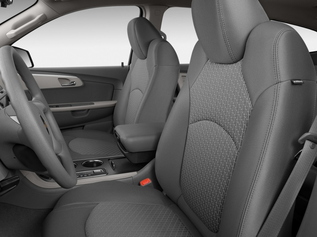 Image: 2009 Chevrolet Traverse FWD 4-door LS Front Seats, size: 1024 x 768, type: gif, posted on ...
